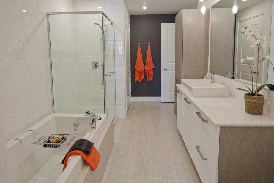 Un tout nouveau quartier pointe claire danielle - Modele de chambre de bain ...