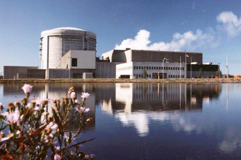 La centrale de Point Lepreau, au Nouveau-Brunswick.... (Photo PC)