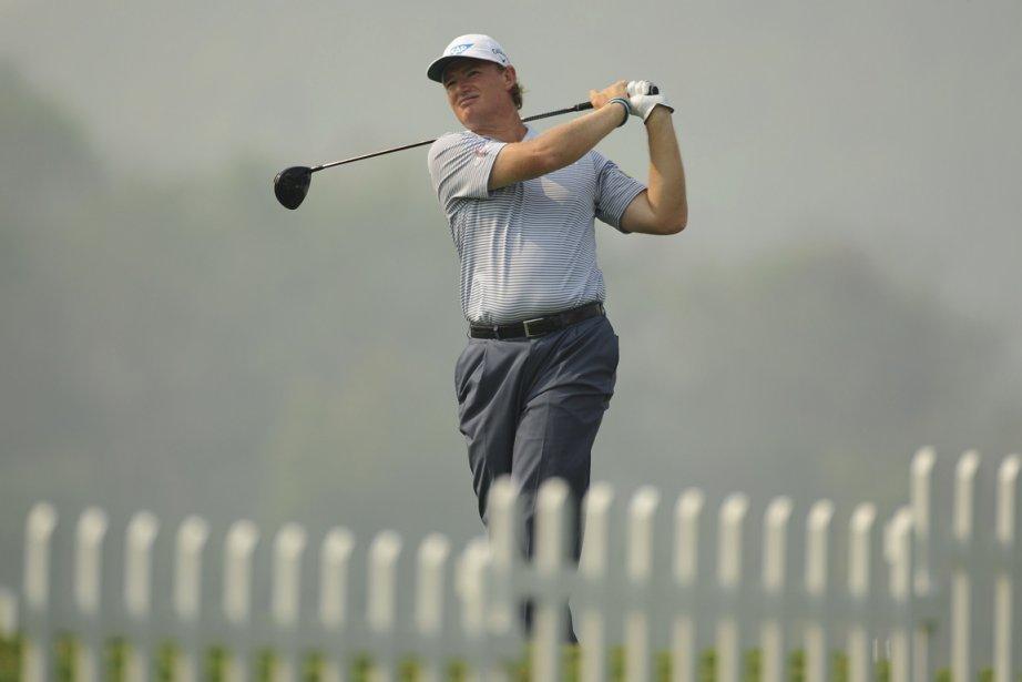 Le Challenge de golf de la fondation Els... (Photo Khalid Redza, AFP)