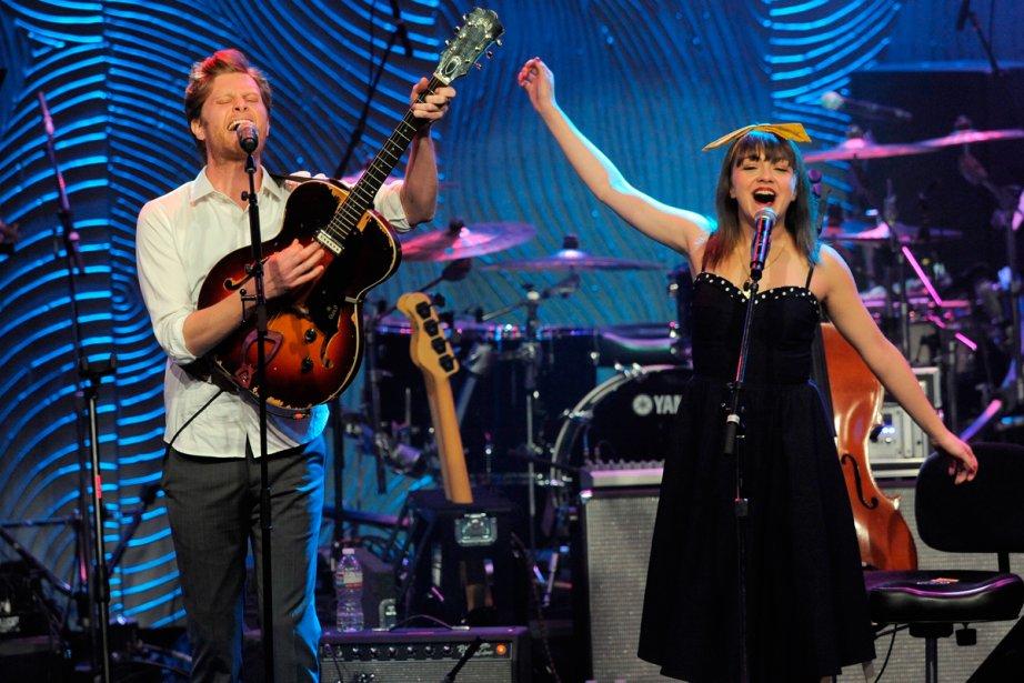 Wesley Schultz et Neyla Pekarek du groupe The... (Photo: archives AP)