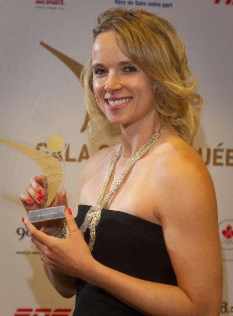 La planchiste Dominique Maltais a remporté le titre de l'athlète féminine de l'année de niveau international. | 1 mai 2013