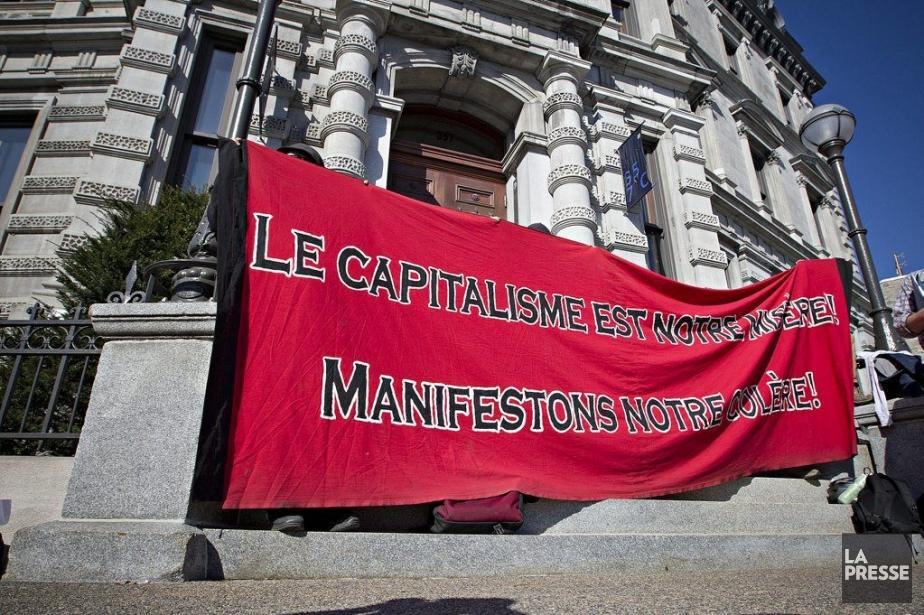 Des représentants de la CLAC ont annoncé une... (Photo Patrick Sanfaçon, La Presse)
