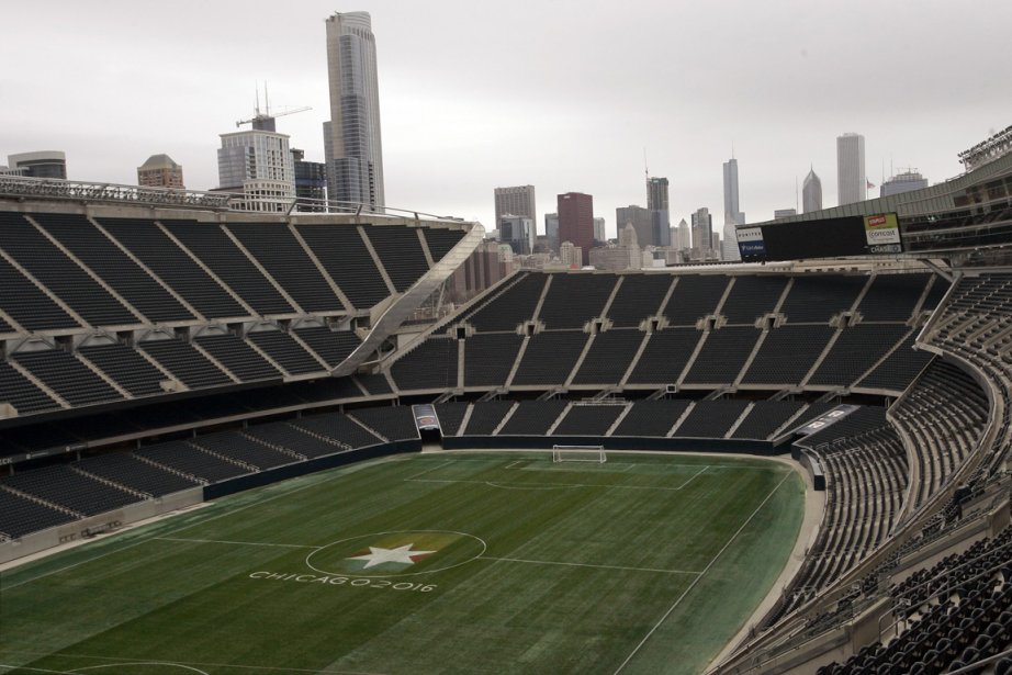Le Soldier Field de Chicago.... (Photo Frank Polich, Reuters)