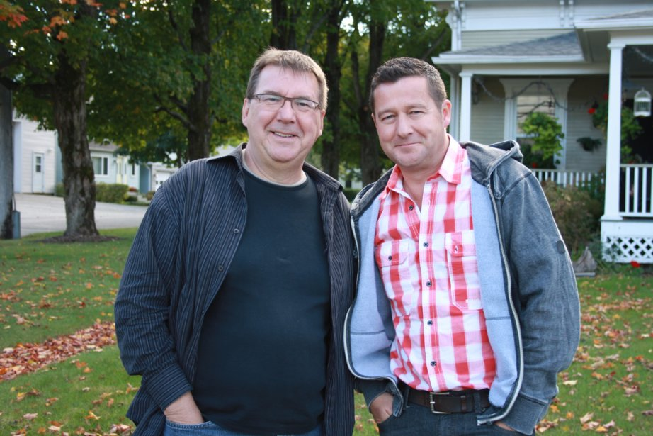 Rémy Girard et Dany Turcotte à La petite... (Photo: fournie par Radio-Canada)