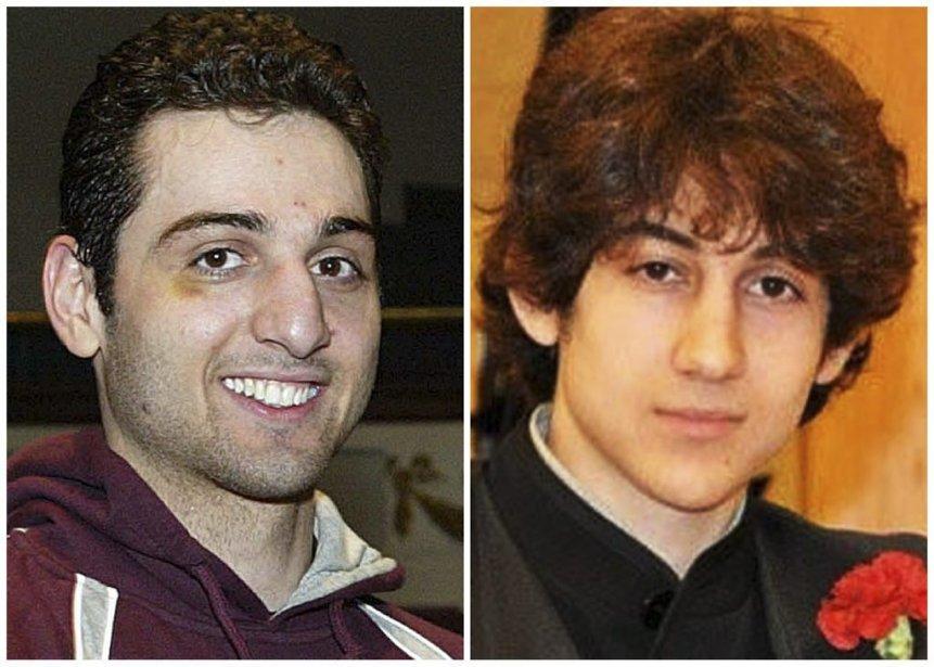 Les frères Tamerlan et Dzhokhar Tsarnaev, suspects dans... (Archives AP)