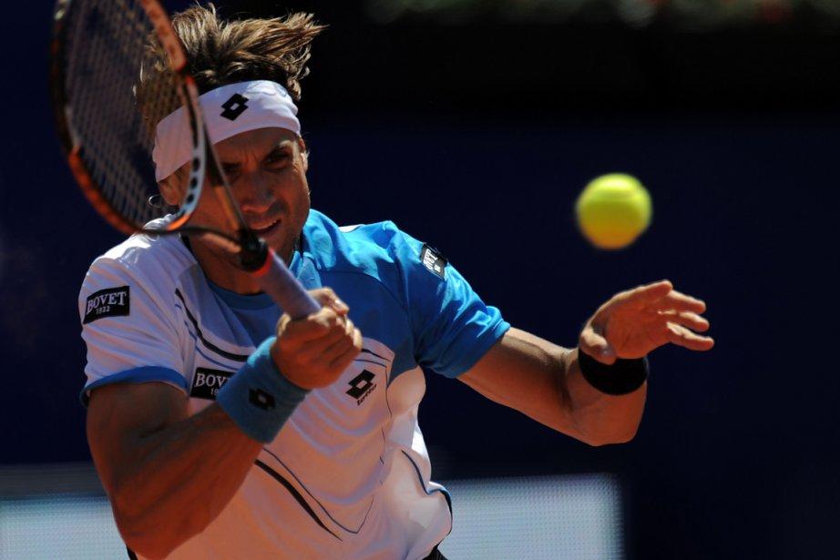 David Ferrer... (Photo Lluis Gene, AFP)