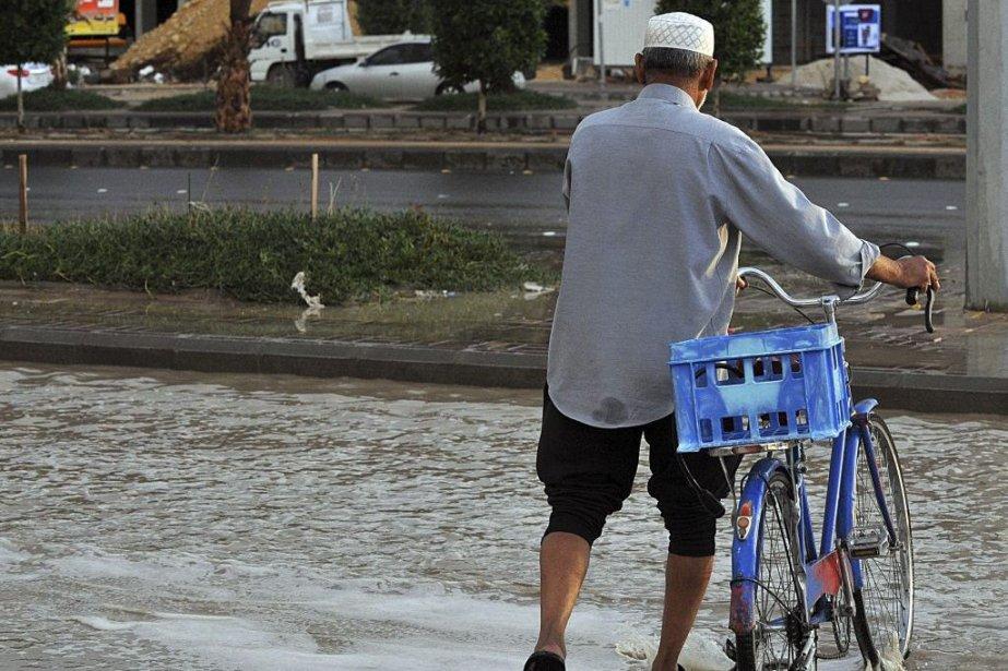 La pluviométrie n'a jamais été aussi élevée en... (PHOTO FAYEZ NURELDINE, AFP)