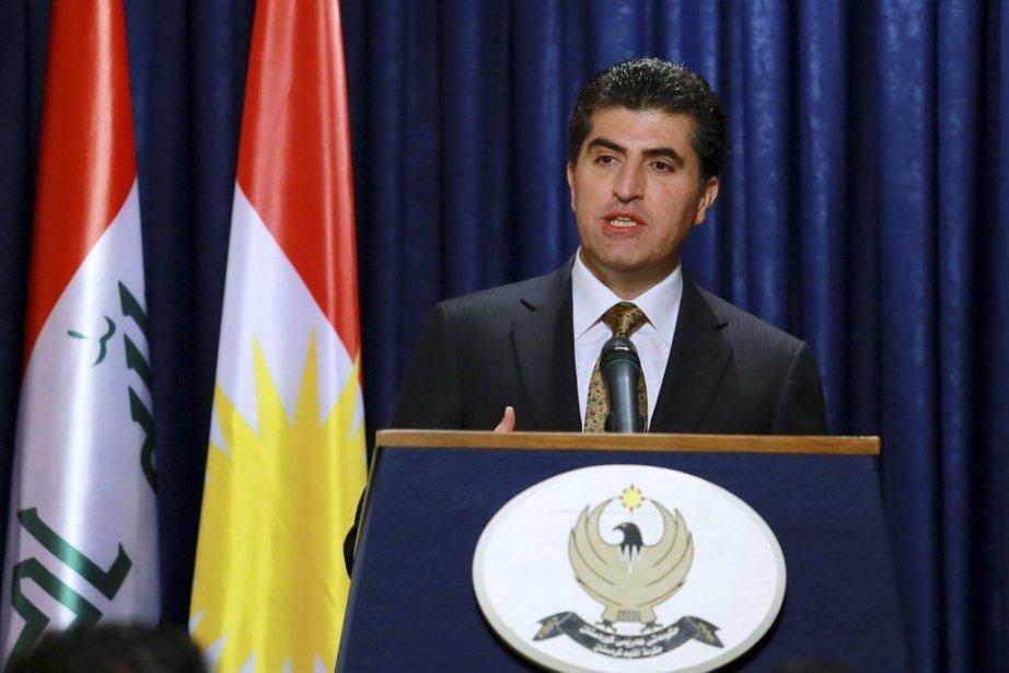 Nechirvan Barzani... (PHOTO SAFIN HAMED, AFP)