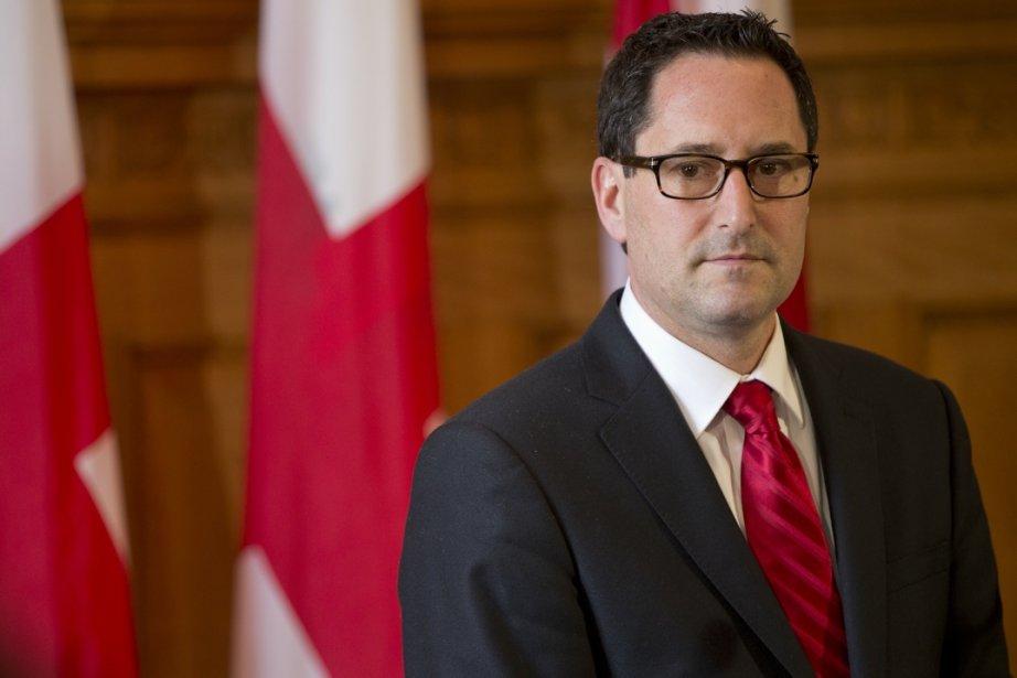 Le maire Michael Applebaum... (Photo David Boily, La Presse)
