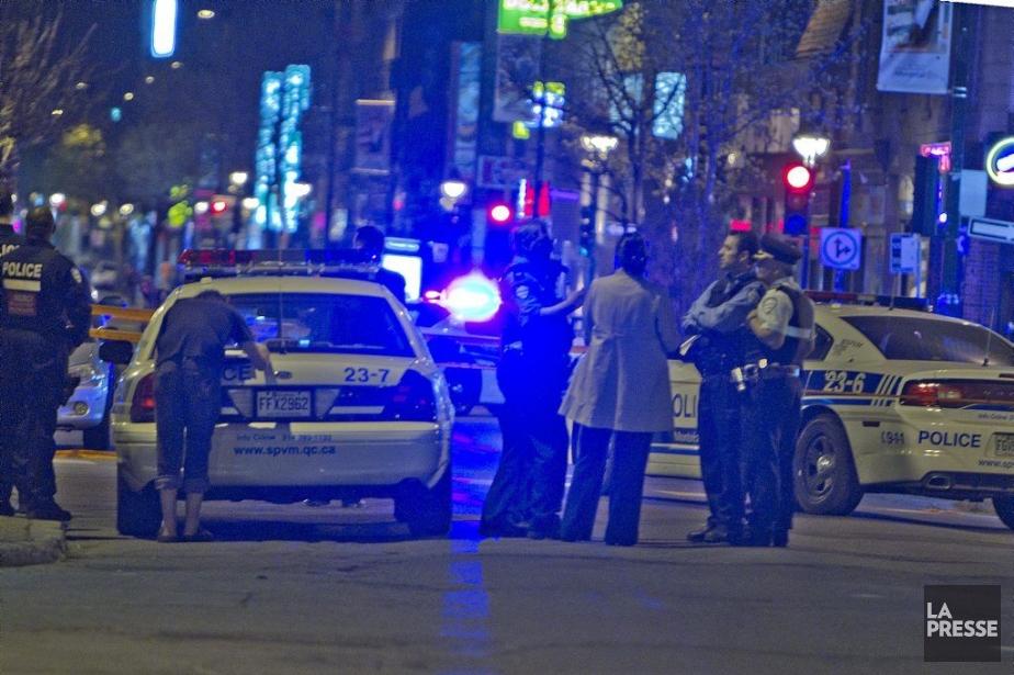Le Service de police de la Ville de... (Photo Félix-Olivier Jacques Fournier, collaboration spéciale)