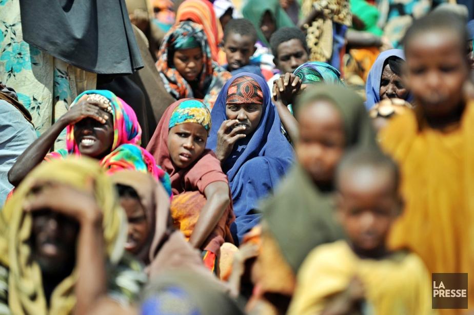 «La famine et la grave insécurité alimentaire en... (PHOTO TONY KARUMBA, ARCHIVES AFP)