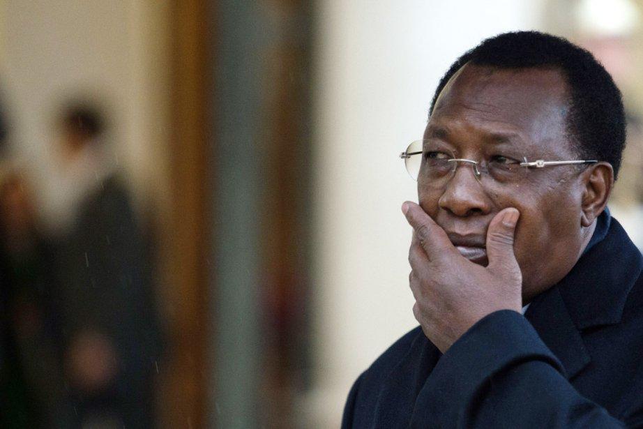 Le président tchadienIdriss Déby.... (PHOTO MARTIN BUREAU, AFP)