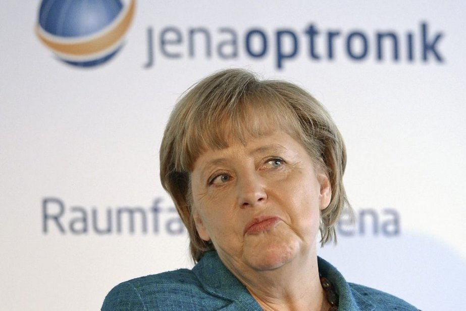 Angela Merkel... (Photo Jens Meyer, Agence France-Presse)