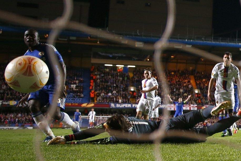 Chelsea s'est qualifié pour la première finale de C3 de son... (Photo Reuters)