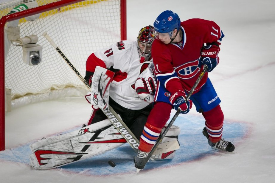 Brendan Gallagher contre Craig Anderson. | 2 mai 2013