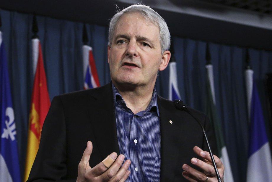 Le député libéral et ancien astronaute, Marc Garneau.... (Photo Patrick Doyle, Reuters)