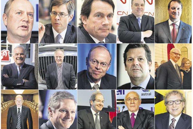 Presque 25 millions pour les patrons de BCE/Bell Canada. Dix millions pour le...