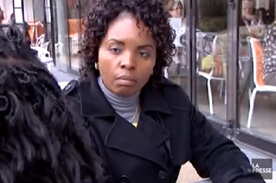 Solange Lusiku... (Image vidéo tirée de Facebook)