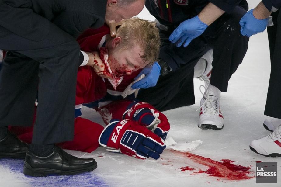 Lars Eller a souffert d'une commotion cérébrale avec... (Photo André Pichette, La Presse)