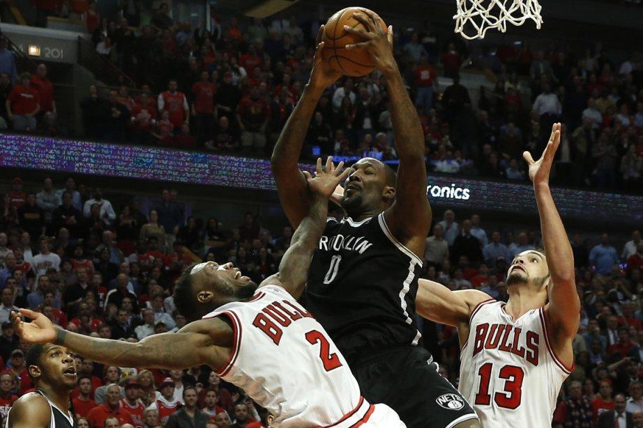 Les Nets de Brooklyn ont remporté une victoire... (Photo Jim Young, Reuters)