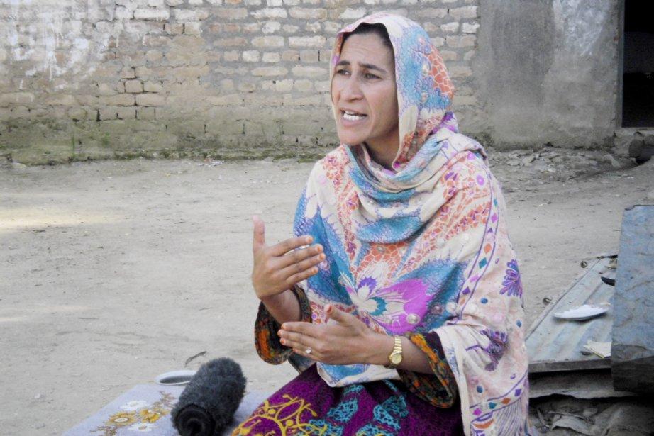 Nusrat Begum est candidate aux élections législatives au... (PHOTO HALEEM ASAD, COLLABORATION SPÉCIALE)