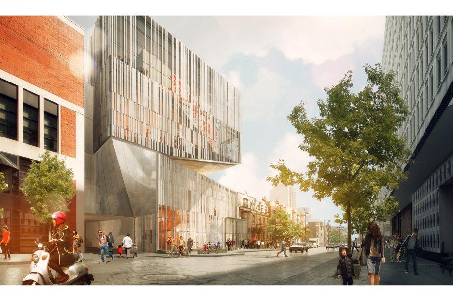 Le futur Pavillon 5 du Musée des ... (Photo: Manon Asselin Architecte (atelier TAG))