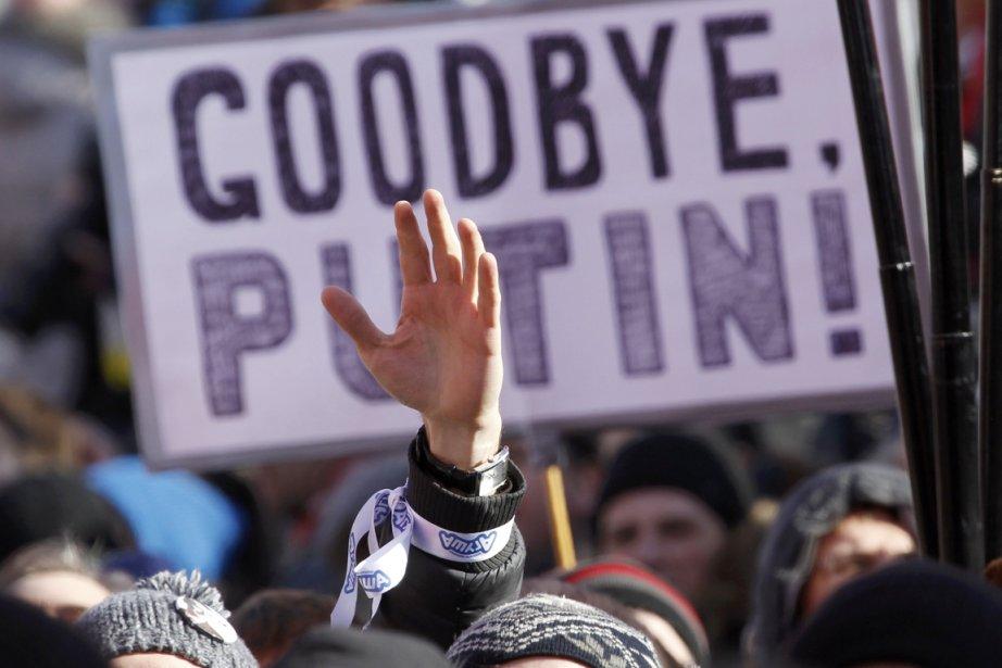 «Libérez les prisonniers politiques» sera l'un des slogans... (PHOTO SERGEI KARPUKHIN, ARCHIVES REUTERS)