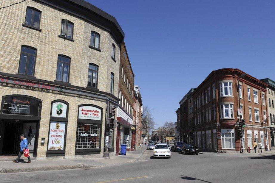 Depuis quelques années, le quartier... (Photo Erick Labbé, Le Soleil)