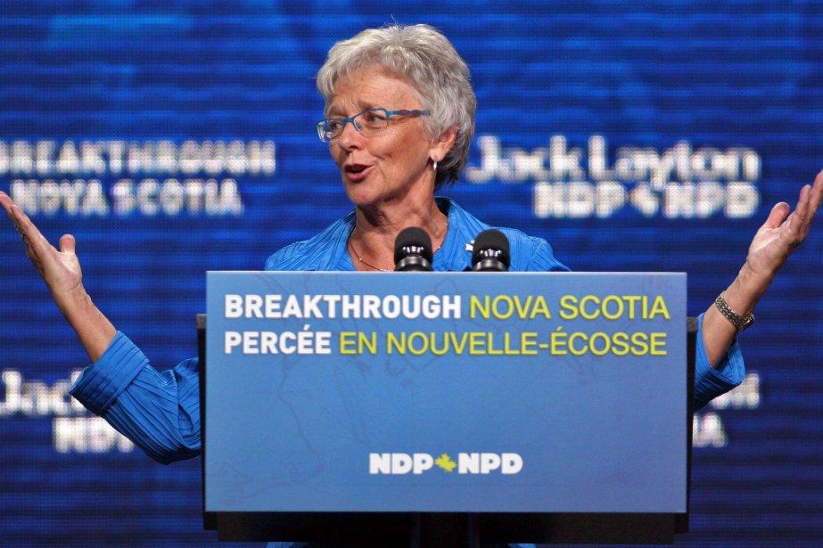 Alexa McDonougha été chef du Nouveau Parti démocratique... (Photo Tim Krochak, archives La Presse Canadienne)