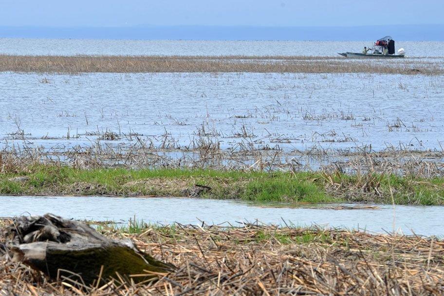 Les pêcheurs sont nombreux sur les cours d'eau du... (Photo: Stéphane Lessard)