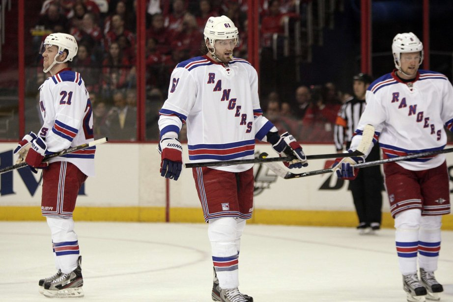 Rick Nash et les Rangers ont la ferme... (Photo : Jonathan Ernst, archives Reuters)