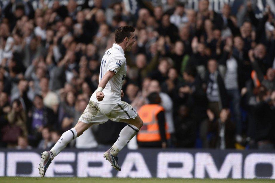 Gareth Bale a encore une fois sauvé Tottenham... (Photo : Dylan Martinez, Reuters)