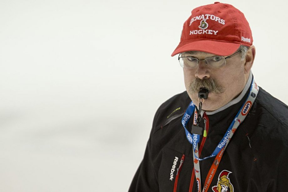 Paul MacLean a répondu à Brandon Prust, qui... (PHOTO DAVID BOILY, LA PRESSE)