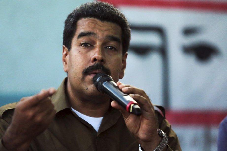 Le président vénézuélien, Nicolas Maduro.... (PHOTO FRANCISCO BATISTA, AFP)