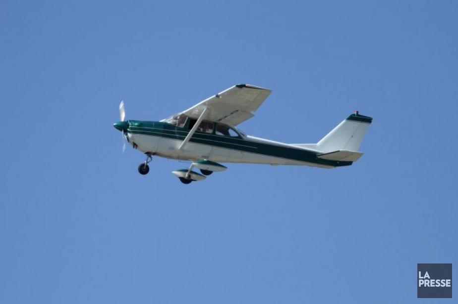 Un petit appareil Cessna comparable à celui qui... (Photo: Photos.com)
