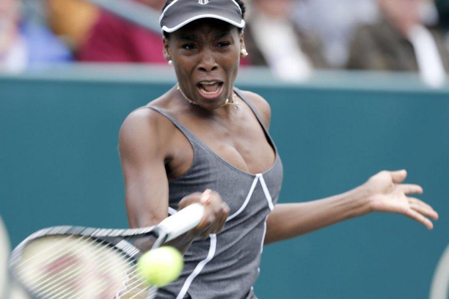 Venus Williams a un problème au dos.... (Photo : Mic Smith, archives AP)