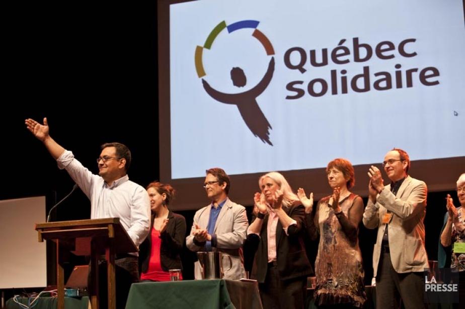 Québec Solidaire a profité de son congrès pour... (Photo Marie-Hélène Tremblay, collaboration spéciale)