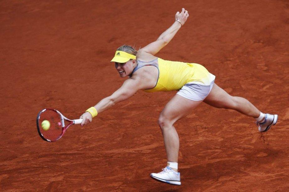 Kerber, sixième au monde, a vaincu Su-Wei Hsieh... (PHOTO SUSANA VERA, REUTERS)