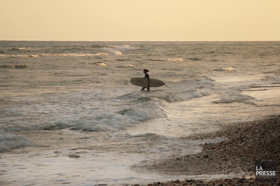 Surf de fin de journée à Jacmel....