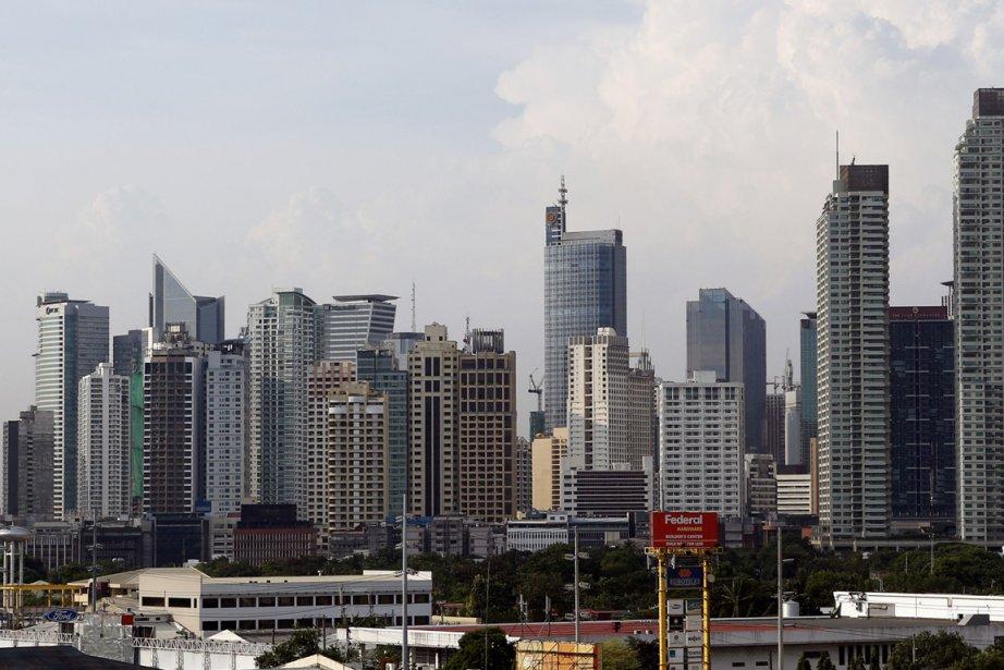 Le quartier financier de Makati, à Manille.... (Photo Reuters)