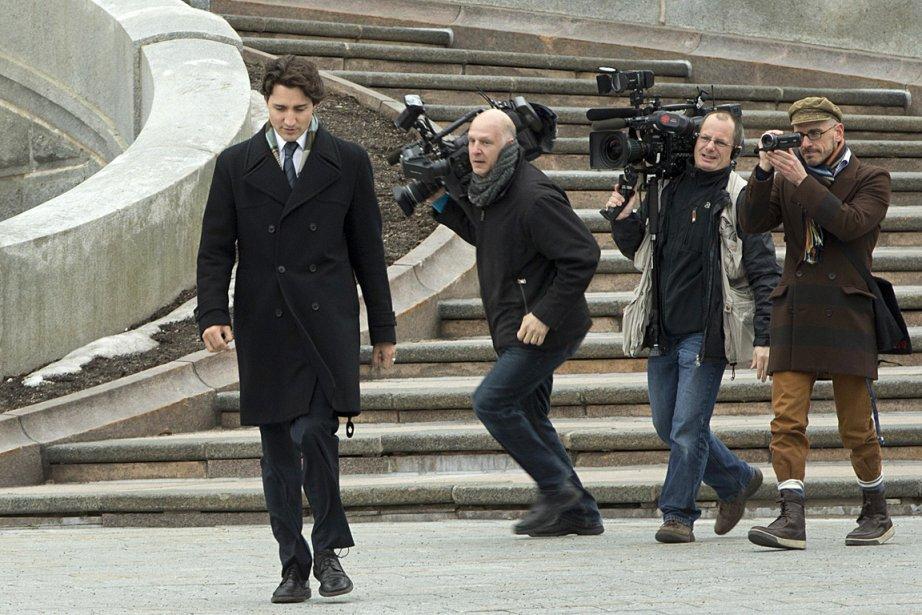 Justin Trudeau, chef du Parti libéral du Canada.... (Photo: Ivanoh Demers, archives La Presse)