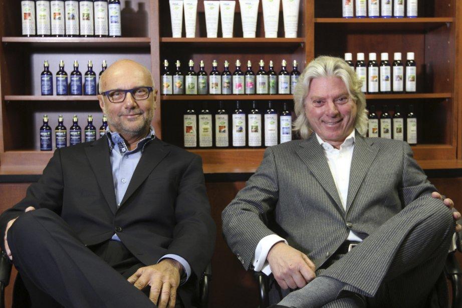 Jean Colas et Robert P. Boisvert, de la... (Photo Stéphane Champagne, collaboration spéciale)
