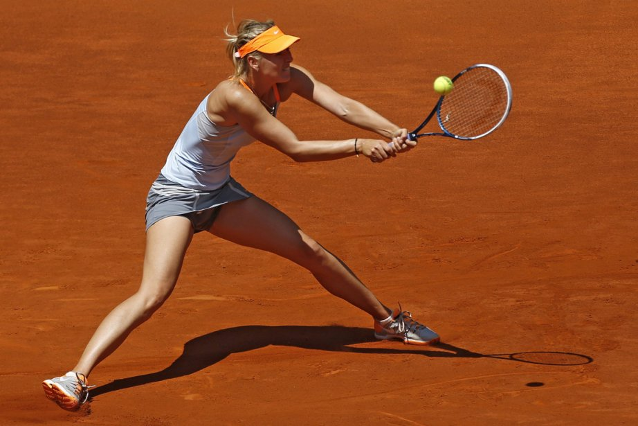 Maria Sharapova... (Photo Juan Medina, Reuters)