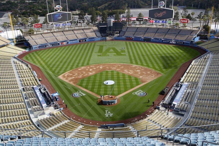 Le Dodger Stadium.... (Photo Alex Gallardo, Reuters)