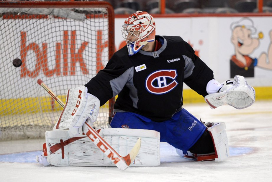 Carey Price affiche une moyenne de 3,69 et... (Photo Sean Kilpatrick, PC)