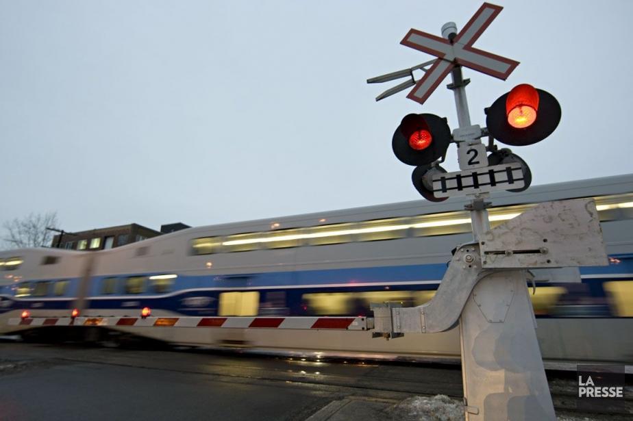 L'implantation d'une gare à Mirabel serait un empiètement... (Photo: David Boily, Archives La Presse)