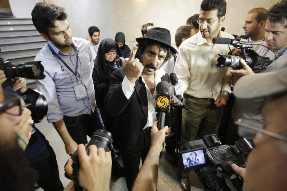 Behrouz Vossoughi Rad, un Iranien inconnu du grand... (PHOTO VAHID SALEMI, AP)
