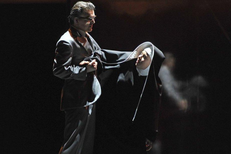 Markus Eiche et Elisabet Strid dans l'opéra Tannhäuser... (Photo: AP)