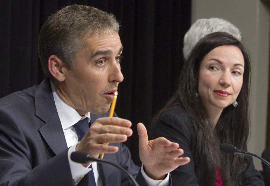 Le ministre des Finances et de l'Économie, Nicolas... (Photo Clément Allard, La Presse Canadienne)