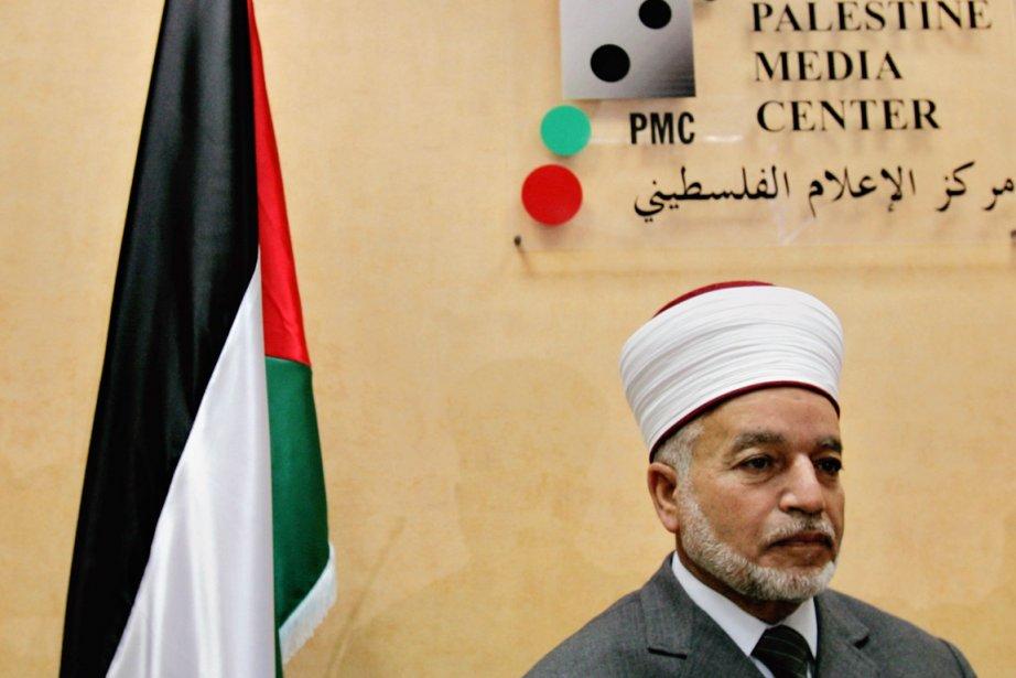 Le mufti de Jérusalem, Mohammad Hussein, est laplus... (PHOTO MUHAMMED MUHEISEN, ARCHIVES AP)